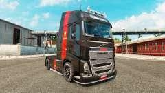 Ferrari pele para a Volvo caminhões