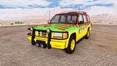 Gavril Roamer Tour Car Jurassic Park para BeamNG Drive