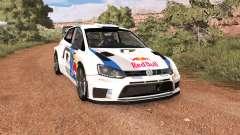 Volkswagen Polo R WRC v2.0 para BeamNG Drive