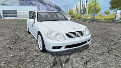 Mercedes-Benz S65 AMG V12 Biturbo (W220) 2005