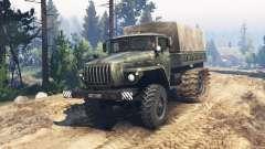 Ural 4320 pântano de buggy v1.1