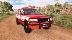 Gavril Roamer DeWitt NY Fire Department Squad para BeamNG Drive