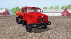 KrAZ 65053 Inflamável