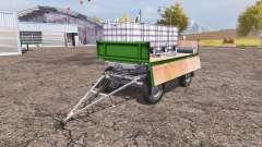 Trailer fertilizer
