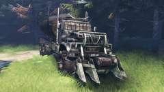 KrAZ 255 Mad Max. para Spin Tires