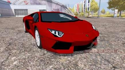 Lamborghini Aventador LP 700-4 (LB834) para Farming Simulator 2013