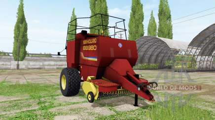New Holland BigBaler 980 v2.1 para Farming Simulator 2017