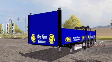 Ekeri bale semitrailer v2.0 para Farming Simulator 2013