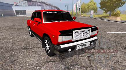 VAZ Lada 2107 para Farming Simulator 2013