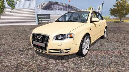 Audi A4 3.0 TDI quattro (B7) para Farming Simulator 2013