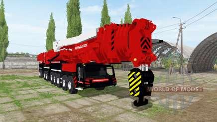 Liebherr LTM 11200-9.1 Mammoet speed lift para Farming Simulator 2017