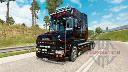 Predador pele para caminhão Scania T-series para Euro Truck Simulator 2