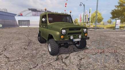 UAZ 469 meia-pista para Farming Simulator 2013