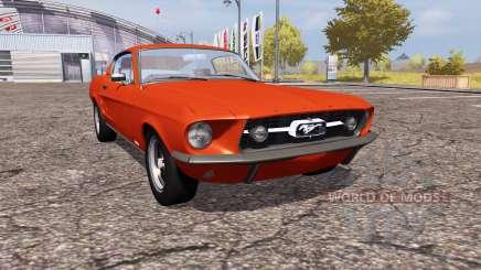 Shelby GT500 1967 para Farming Simulator 2013