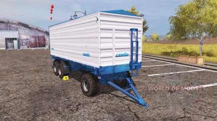 Casella tipper trailer para Farming Simulator 2013