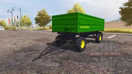 John Deere trailer para Farming Simulator 2013