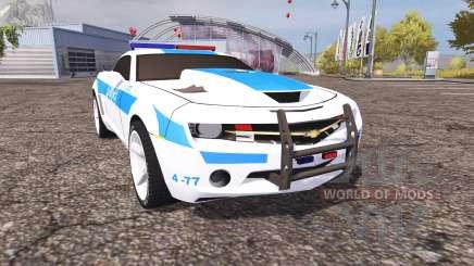 Chevrolet Camaro Police v2.0 para Farming Simulator 2013
