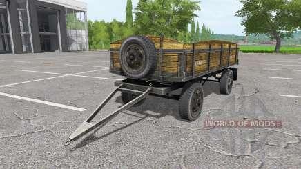Tractor trailer v1.1 para Farming Simulator 2017