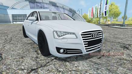 Audi A8 (D4) 2012 para Farming Simulator 2013