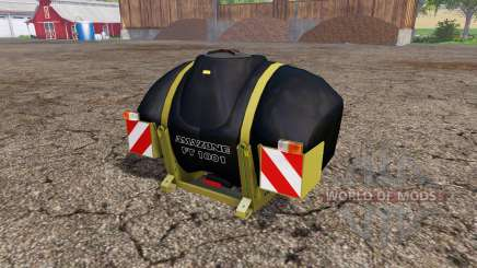 AMAZONE FT 1001 eco black edition v2.0 para Farming Simulator 2015