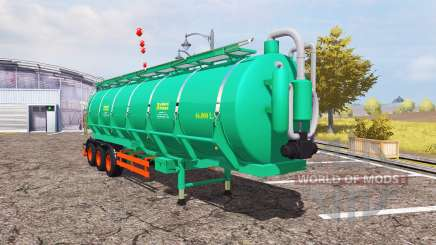 Aguas-Tenias tank manure para Farming Simulator 2013