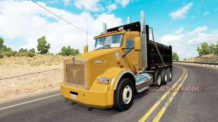Kenworth T800 dump para American Truck Simulator