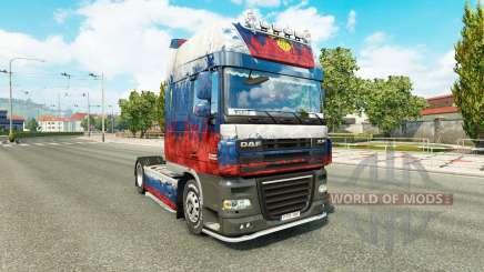Pele Rússia tractor DAF para Euro Truck Simulator 2