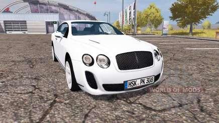 Bentley Continental GT Supersports para Farming Simulator 2013