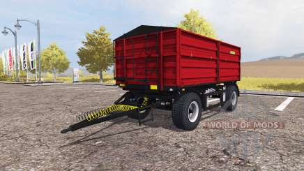 Zaslaw D-737AZ red v2.0 para Farming Simulator 2013