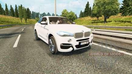 BMW X6 M50d (F16) para Euro Truck Simulator 2