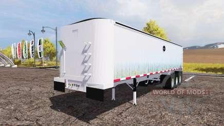 MAC dump semitrailer para Farming Simulator 2013