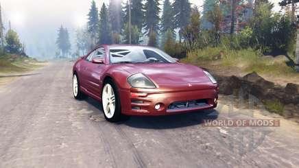 Mitsubishi Eclipse GTS 2003 para Spin Tires