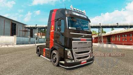 Ferrari pele para a Volvo caminhões para Euro Truck Simulator 2