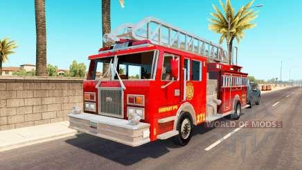 Emergency vehicles USA traffic para American Truck Simulator