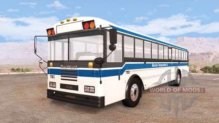Dansworth D2500 (Type-D) generic transport v1.4 para BeamNG Drive