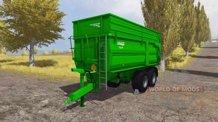Krampe Big Body 650 S para Farming Simulator 2013