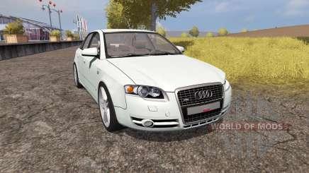 Audi A4 3.0 TDI quattro (B7) v1.1 para Farming Simulator 2013