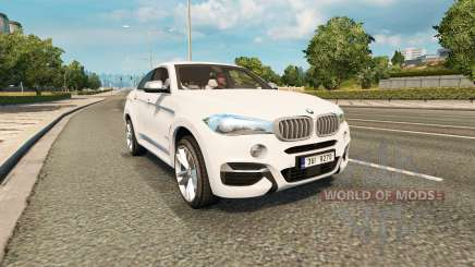 BMW X6 M50d (F16) v2.0 para Euro Truck Simulator 2