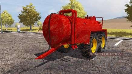Teko manure spreader para Farming Simulator 2013