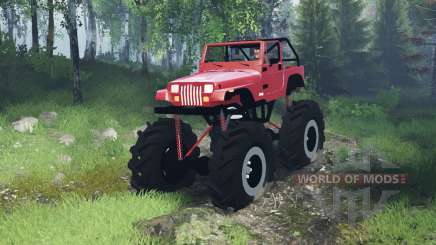 Jeep Wrangler (YJ) mega para Spin Tires