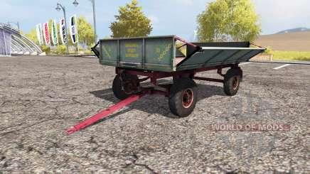 PTS 4 tycovka para Farming Simulator 2013