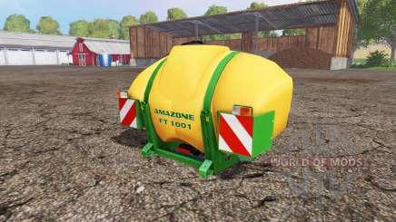 AMAZONE FT 1001 v1.1 para Farming Simulator 2015