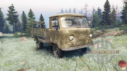 UAZ 452Д para Spin Tires