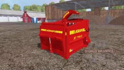 Agram Jet Paille v2.0 para Farming Simulator 2015