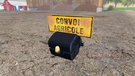 Weight New Holland para Farming Simulator 2015