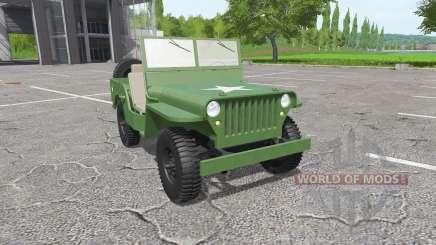 Jeep Willys MB 1942 para Farming Simulator 2017