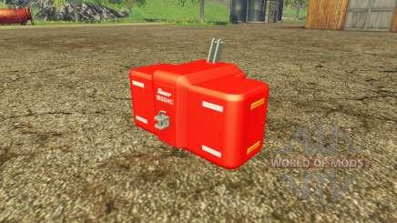 Suer SB 1600 multicolor para Farming Simulator 2015