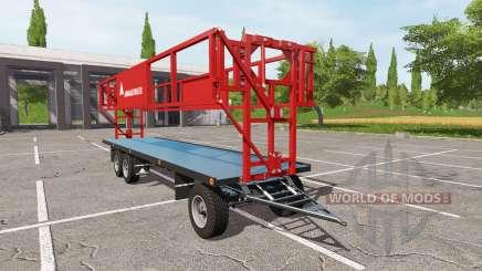 ANNABURGER bale trailer para Farming Simulator 2017