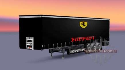 Peles de Fórmula 1, as equipes para a semi para Euro Truck Simulator 2