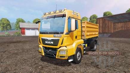 MAN TGS 18.360 v2.2 para Farming Simulator 2015